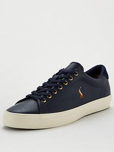 polo-ralph-lauren-longwood-perforated-leather-trainers-navy