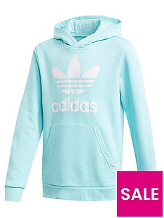adidas-originals-childrensnbsptrefoil-hoodie-light-blue