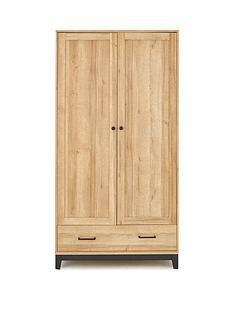 prod1089186156: Dalston 2 Door,1 Drawer Wardrobe