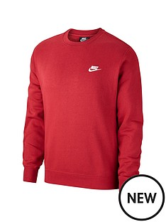 nike-sportswear-club-crew-neck-sweat-red