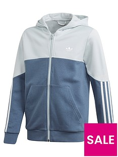 adidas-originals-childrensnbspoutline-full-zip-hoodie-blue