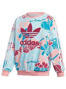adidas-originals-girls-crewneck-sweatshirt-multi