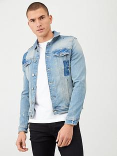 river-island-smart-western-muscle-fit-light-denim-jacket