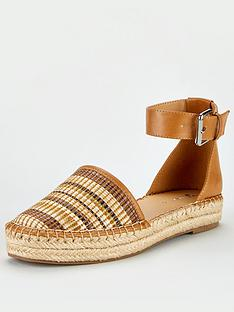 v-by-very-maegan-2-part-ankle-strap-flat-espadrilles-tan