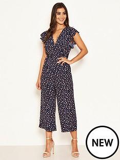 ax-paris-ditsy-floral-print-jumpsuit-navy