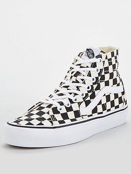 vans-sk8-hi-tapered-checkerboard-blackwhitenbsp