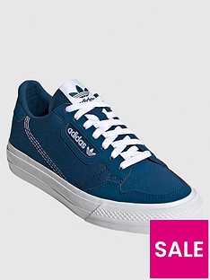 adidas-originals-junior-continental-vulc-trainers-blue