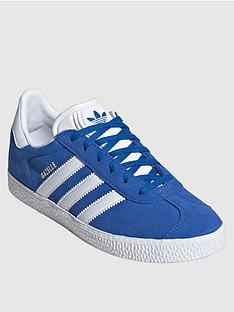 adidas-originals-juniornbspgazelle-trainers-blue