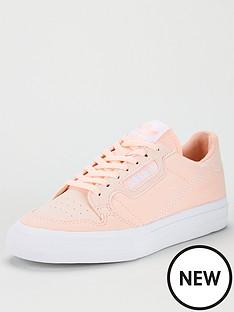 adidas-originals-continental-vulc-junior-trainers-orange