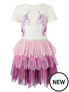 monsoon-girls-disco-aura-unicorn-dress-purple