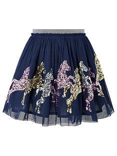 monsoon-girls-disco-jessie-horse-skirt-navy