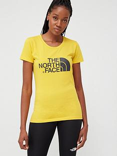 the-north-face-short-sleeve-easy-t-shirt-yellownbsp