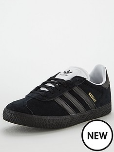 adidas-originals-gazelle-j-junior-trainer-black