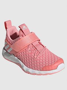 adidas-childrensnbsprapidaflex-summernbsptrainers-pink