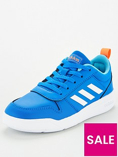 adidas-tensaur-junior-trainers-blue