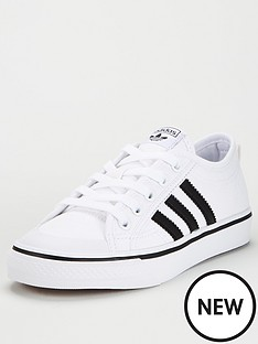 adidas-originals-nizza-junior-trainers-white
