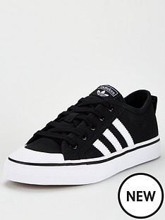 adidas-originals-nizza-junior-trainers-core-black