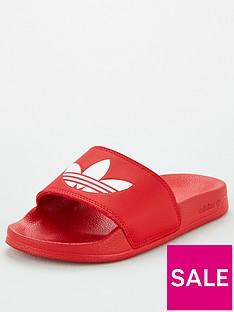 adidas-originals-adilette-lite-junior-sliders-scarlet