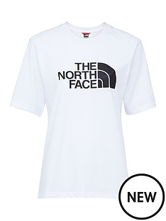 the-north-face-boyfriendnbspeasy-t-shirt-whiteblacknbsp
