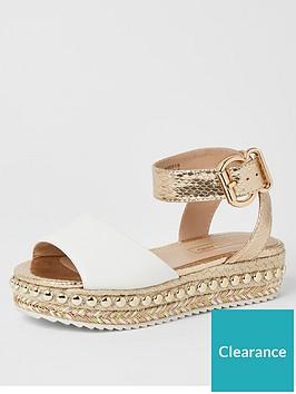river-island-girls-studded-flatform-sandal--nbspwhite