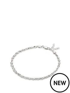 beaverbrooks-silver-triple-strand-anklet