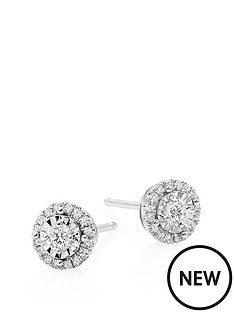 beaverbrooks-18ct-white-gold-diamond-halo-stud-earrings