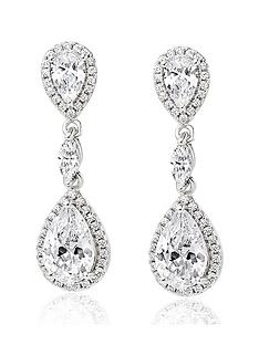 beaverbrooks-silver-cubic-zirconia-halo-drop-earrings