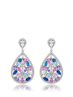 beaverbrooks-silver-multi-colour-cubic-zirconia-drop-earrings