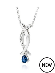 beaverbrooks-9ct-white-gold-sapphire-and-diamond-pendant