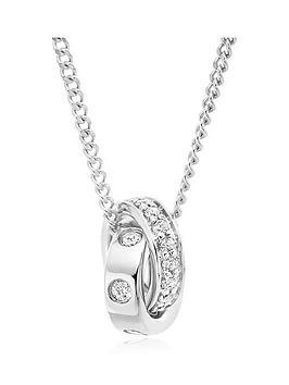 beaverbrooks-9ct-white-gold-diamond-pendant