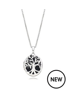 beaverbrooks-silver-cubic-zirconia-tree-locket