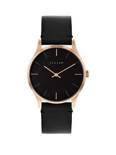 jigsaw-jigsaw-black-and-rose-gold-detail-dial-black-leather-strap-ladies-watch