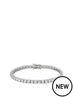beaverbrooks-9ct-white-gold-cubic-zirconia-tennis-bracelet
