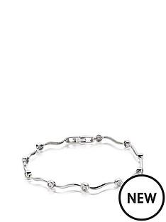 beaverbrooks-9ct-white-gold-diamond-bracelet
