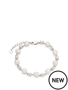 beaverbrooks-silver-cubic-zirconia-and-freshwater-pearl-bracelet