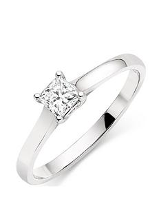 beaverbrooks-18ct-white-gold-diamond-solitaire-ring