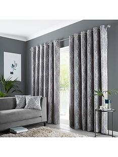 damask-eyelet-curtains
