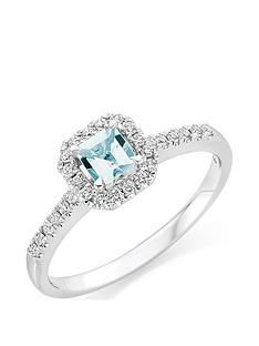 beaverbrooks-18ct-white-gold-diamond-and-aquamarine-ring