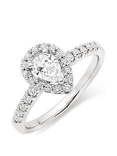 beaverbrooks-platinum-diamond-pear-shaped-halo-ring