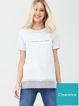 river-island-diamante-trim-t-shirt--light-blue