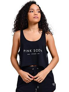 pink-soda-terra-crop-tank-black
