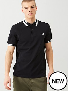 fred-perry-block-tipped-polo-shirt-black