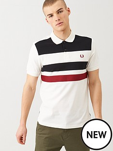 fred-perry-tape-detail-polo-shirt-white