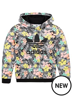 adidas-originals-childrens-overhead-hoodie-black
