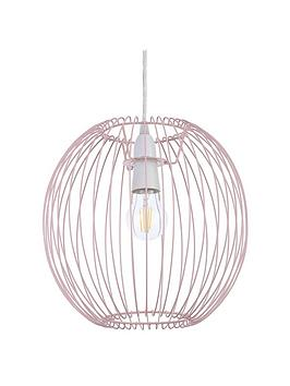 columbia-easy-fit-wire-lightshade-ndash-pink