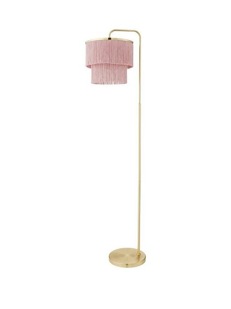michelle-keegan-home-tulsa-fringe-floor-lamp-ndash-pink