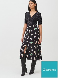 oasis-merci-floral-patched-midi-dress-blacknbsp