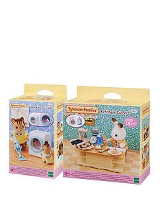 sylvanian-families-sylvanian-families-kitchen-laundry-twin-pack