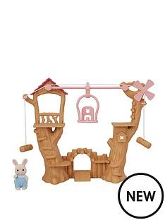 sylvanian-families-baby-ropeway-park