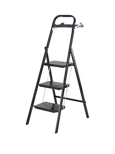 abru-abru-3-tread-black-stepstool-with-tool-tray